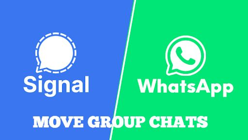 Move WhatsApp Groups to Signal