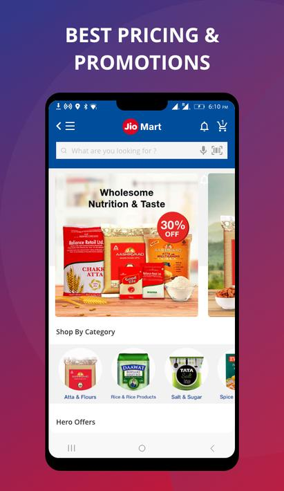 JioMart App best pricing and promotions
